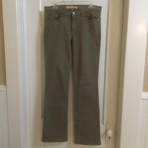 Bella Dahl sage green stretch jeans 29